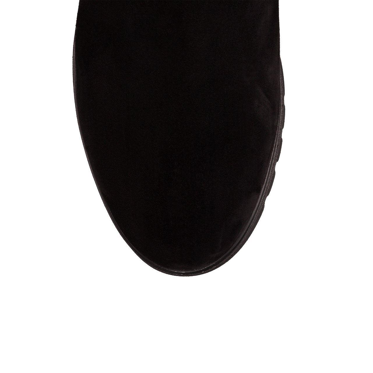 Cizme 4344 Camoscio Negru