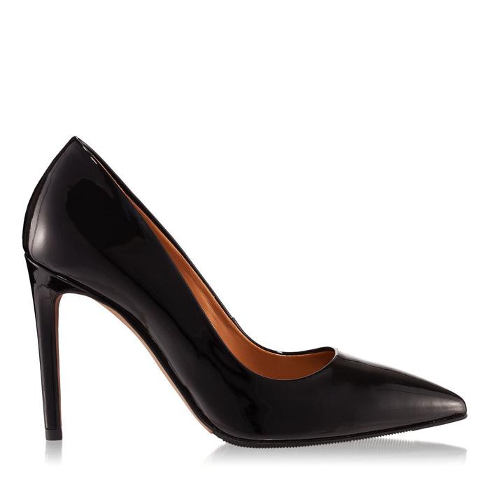 Pantofi dama negri 4332 piele lacuita