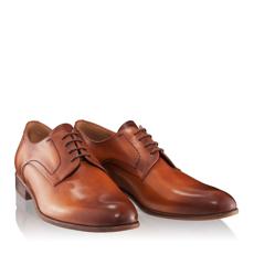 Pantofi eleganti barbati  2882 VITELLO CUOIO
