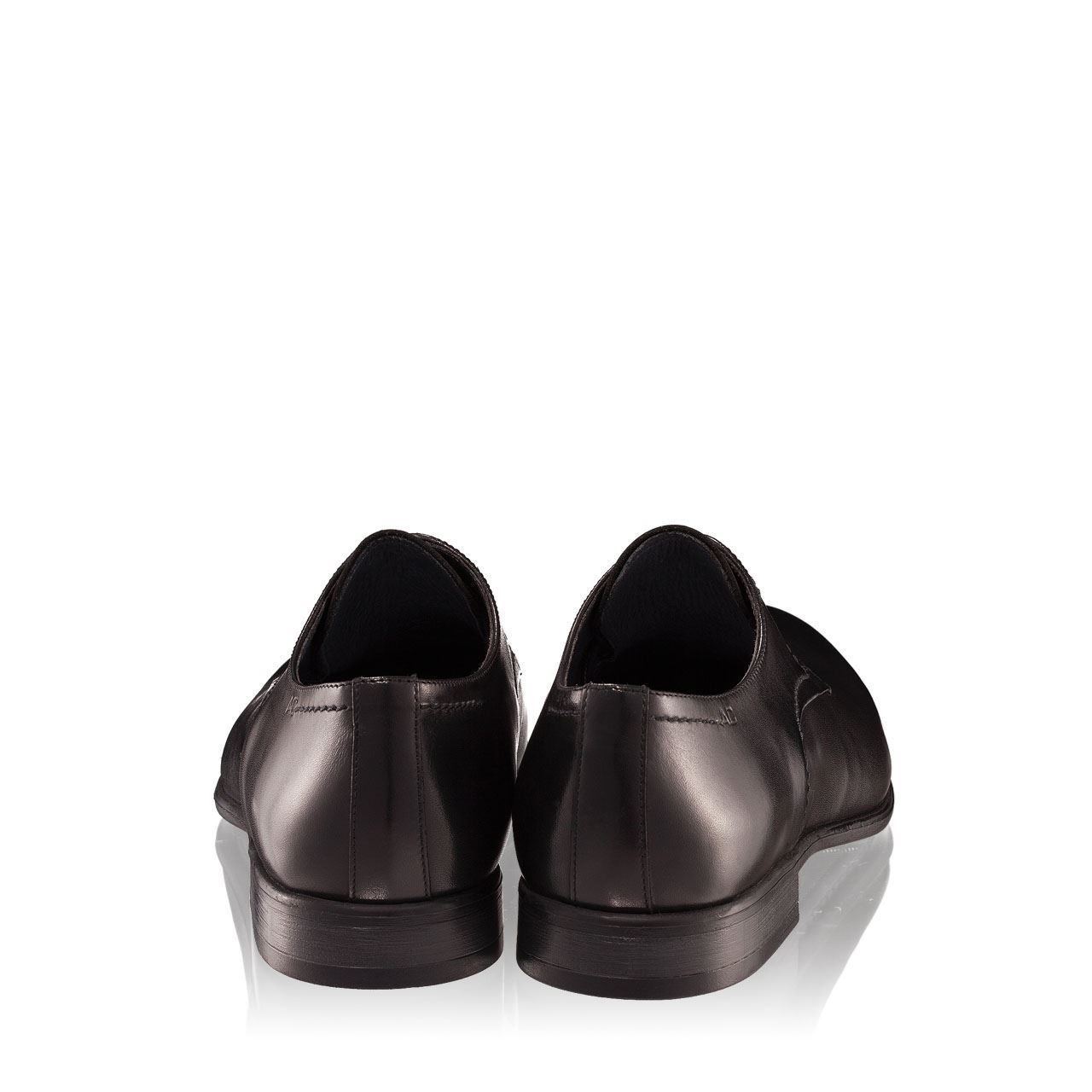 Pantofi barbati negri 2882 piele naturala