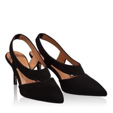 Pantofi Decupati Dama 5769 Cam Nero