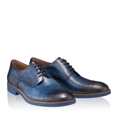 Pantofi Casual Barbati 2958 Vitello Blue
