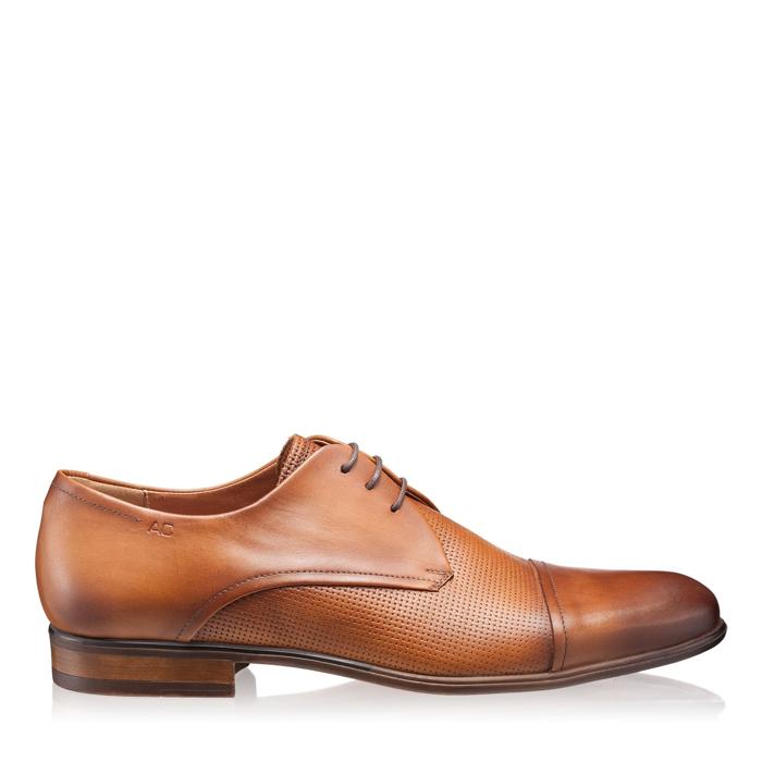 Pantofi Eleganti Barbati 2968 Vit Cuoio Stamp