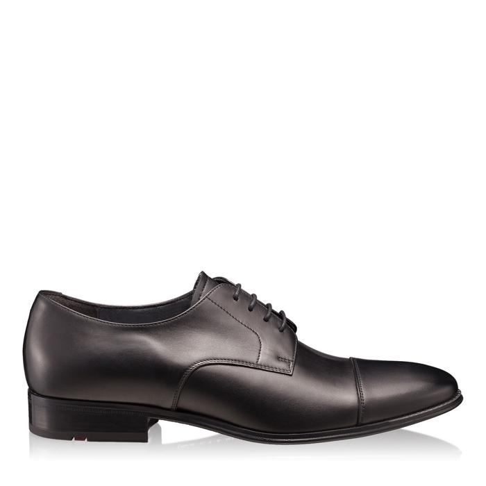 Pantofi Eleganti Barbati 5001 Vitello Nero