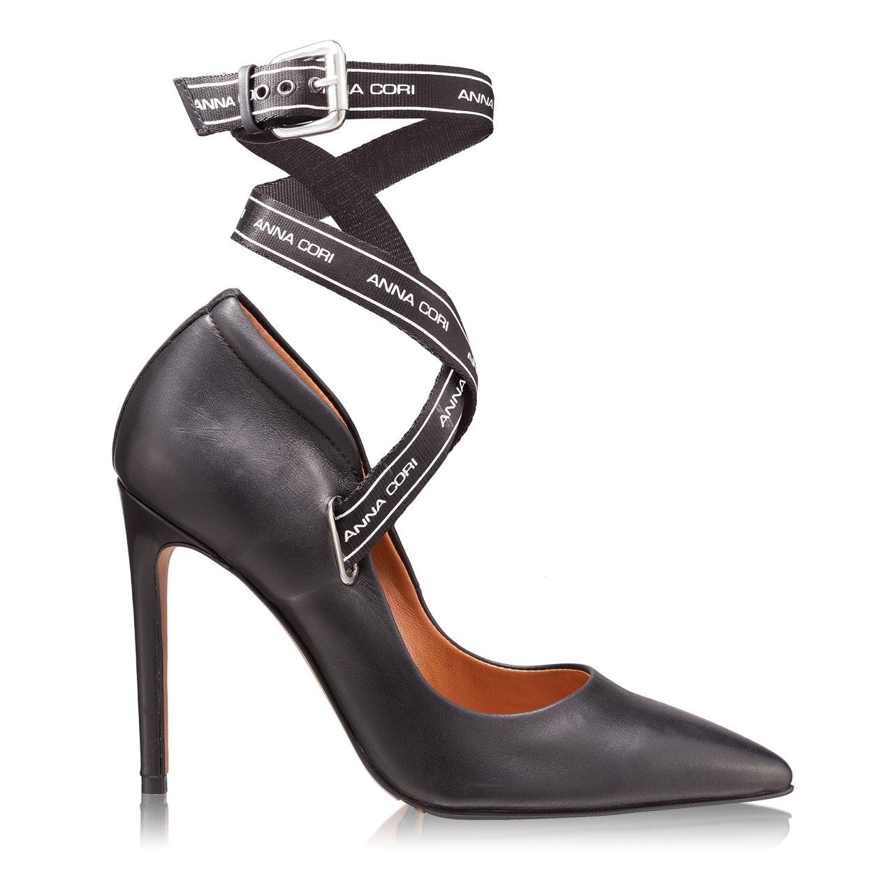 Imagine Pantofi Eleganti Dama 4493 Vitello Negru