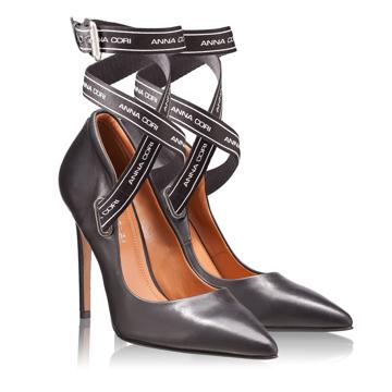 Pantofi Eleganti Dama 4493 Vitello Negru