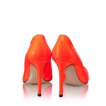 Imagine Pantofi Eleganti Dama 4532 Vernice Fluo Arancio