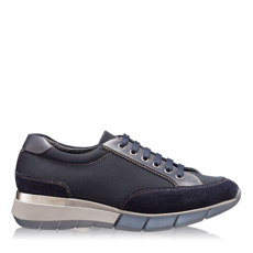 Imagine Pantofi Sport Dama 5706 Crosta+Tesut Blue