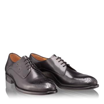 Pantofi Eleganti Barbati 6626 Vitello Negru