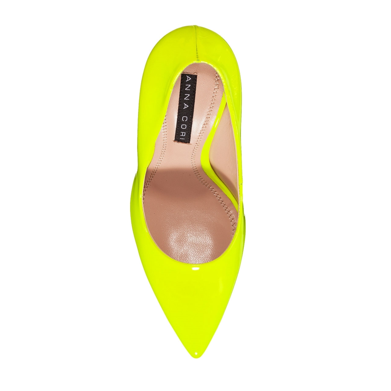 Imagine Pantofi Eleganti Dama 4532 Vernice Fluo Giallo