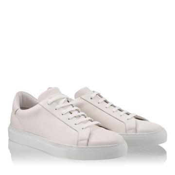 Pantofi Sport Barbati 6710  Vitello Bianco