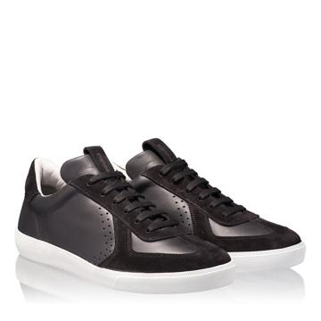 Pantofi Sport Barbati 6701 Vit+Crosta Nero/Bianco