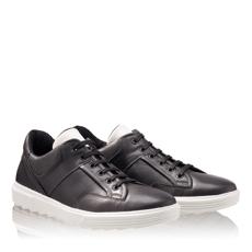 Pantofi Sport Barbati 6706 Vit Negru+Alb
