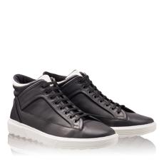 Pantofi Sport Barbati 6707 Vit Negru+Alb