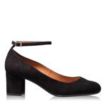Pantofi Casual 4685 Camoscio Negru