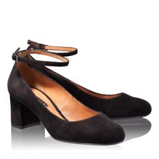Pantofi Eleganti Dama 4685 Camoscio Negru