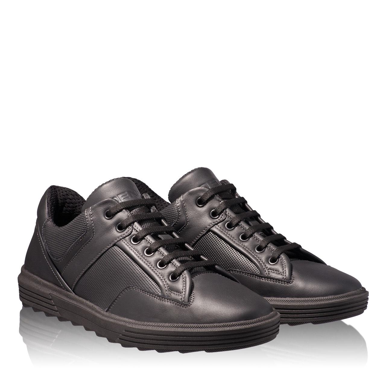 Imagine Pantofi Sport Barbati 6706 Vitello Nero
