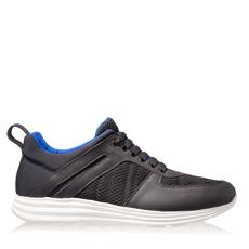Imagine Pantofi Sport Barbati 6708 Vit+Rete Negru/Alb