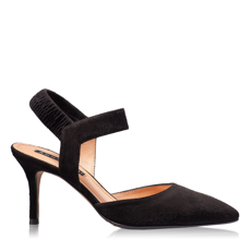Imagine Pantofi Eleganti Dama 4592 Camoscio Negru