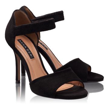 Sandale Dama 4596 Camoscio Negru
