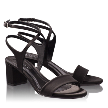 Sandale Dama 4608 Saten Nero