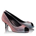 Imagine Pantofi Decupati Dama 4623 Notturno Fuxia