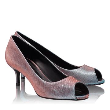 Pantofi Decupati Dama 4623 Notturno Fuxia