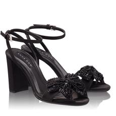 Sandale Dama 4699 Saten Nero