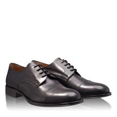 Pantofi Eleganti Barbati 2950 Vitello Negru