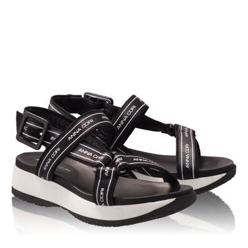 Sandale Dama 4814 Camoscio Negru