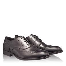 Pantofi Eleganti Barbati 6671 Vitello Nero