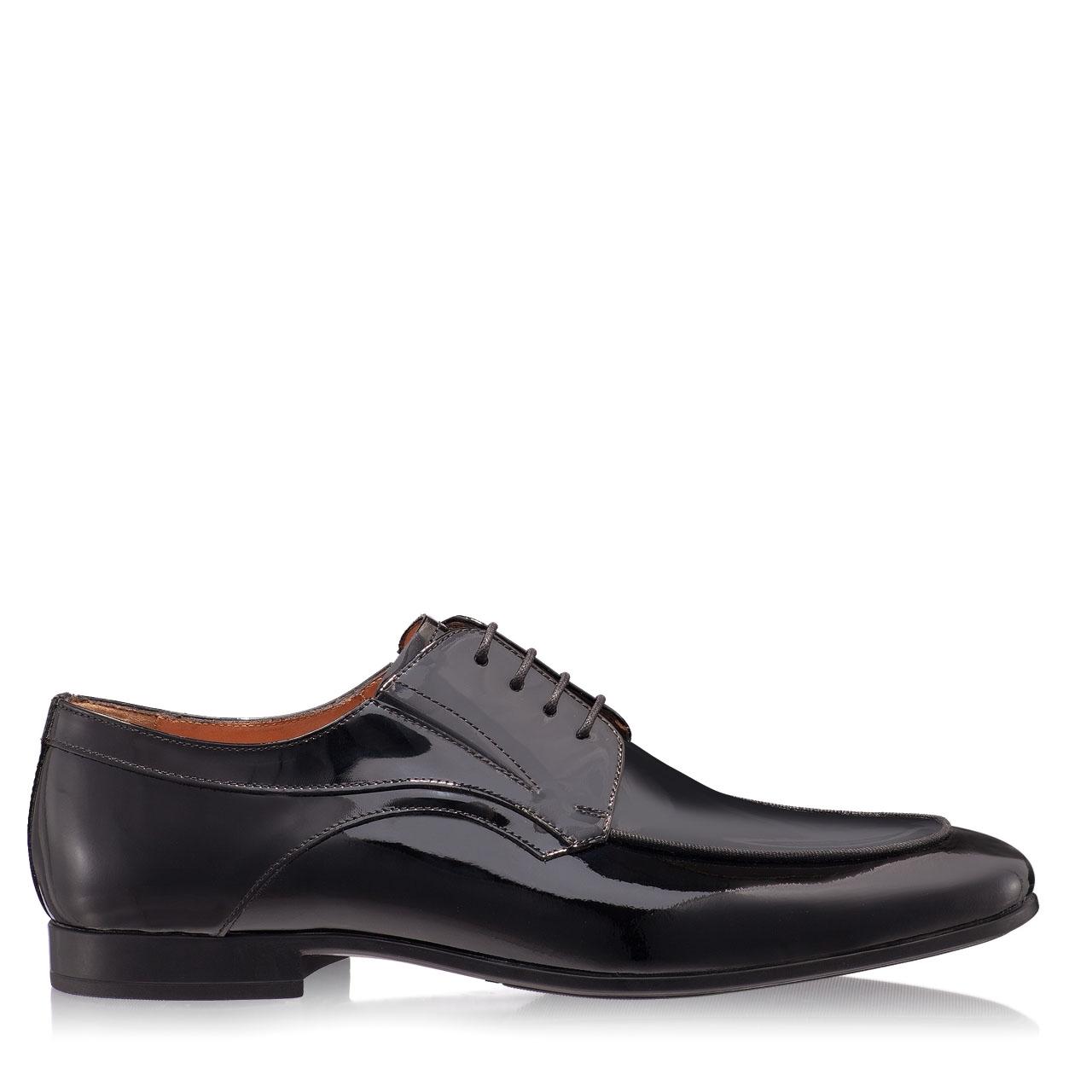 Imagine Pantofi Eleganti Barbati 6801 Lac Negru