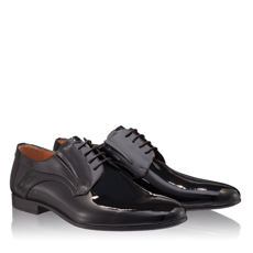 Pantofi Eleganti Barbati 6802 Lac Negru