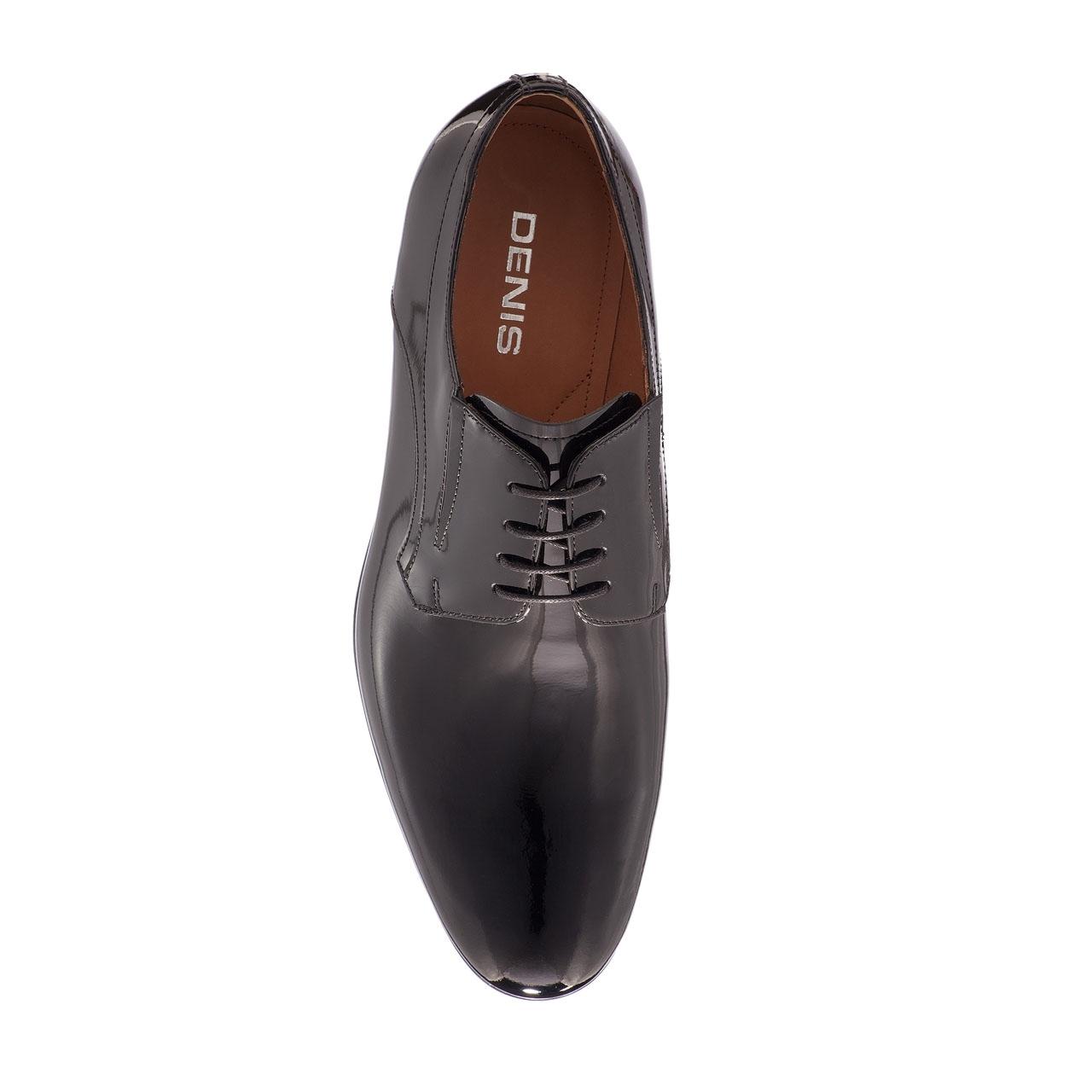 Imagine Pantofi Eleganti Barbati 6802 Lac Negru