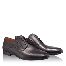 Pantofi Eleganti Barbati 6803 Vitello Negru