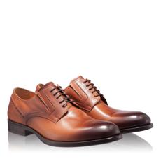 Pantofi Eleganti Barbati 6807 Vitello Cognac