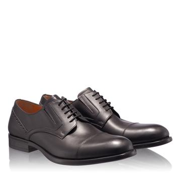 Pantofi Eleganti Barbati 6808 Vitello Negru
