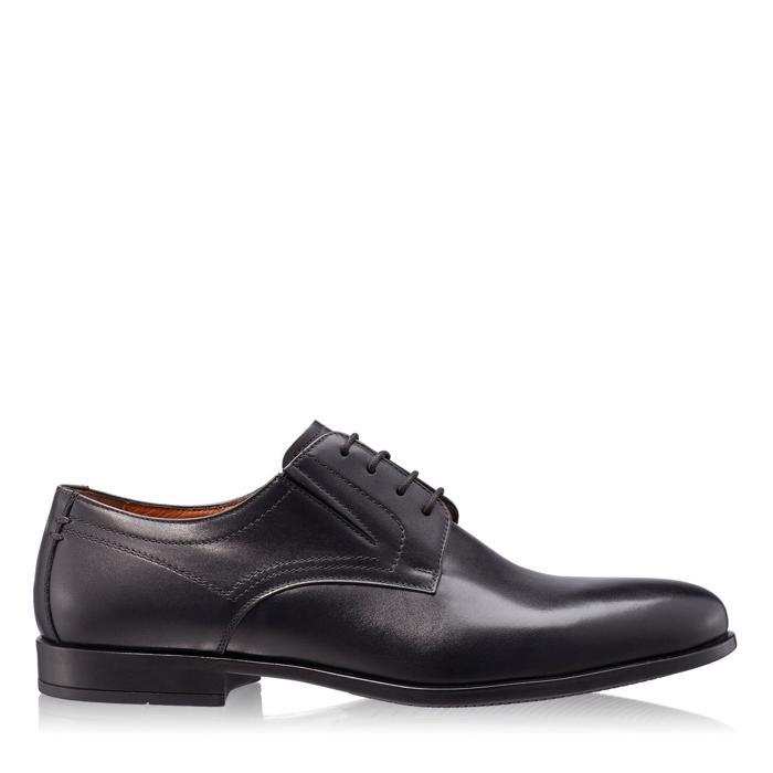 Imagine Pantofi Eleganti Barbati 6826 Vitello Negru