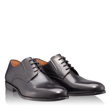 Pantofi Eleganti Barbati 6826 Vitello Negru