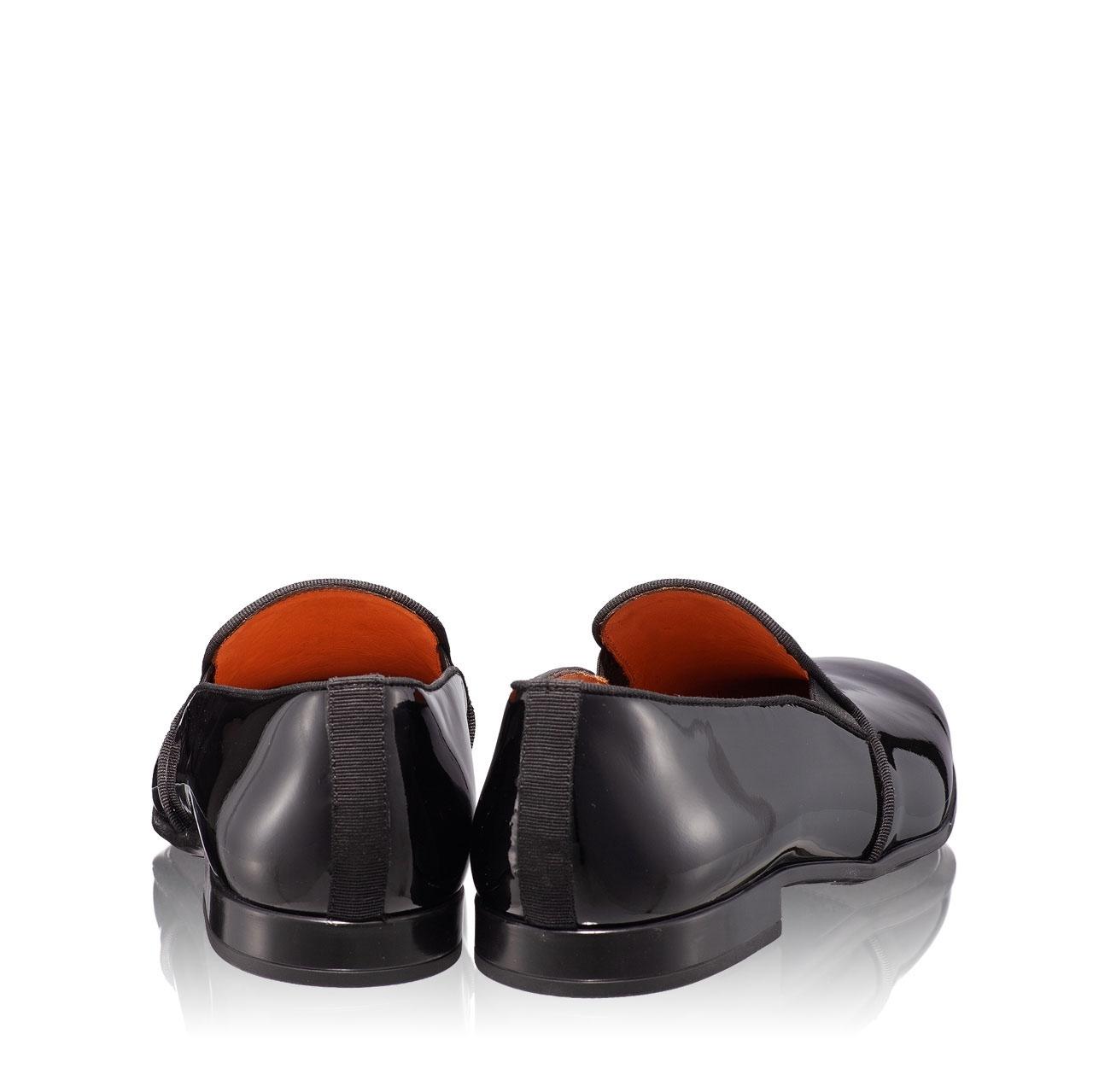 Imagine Pantofi Eleganti Barbati 6800 Lac Negru