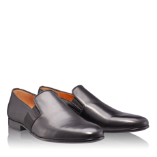 Pantofi Eleganti Barbati 6800 Vitello Negru