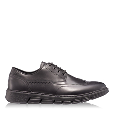 Imagine Pantofi Casual Barbati 6702 Vitello Negru