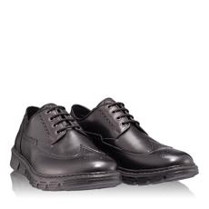 Pantofi Casual Barbati 6702 Vitello Negru