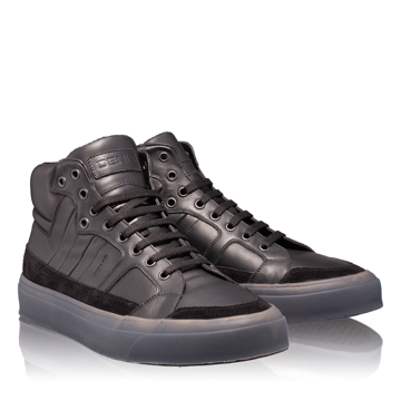 Pantofi Sport Barbati 6716 Vit+Cr Negru