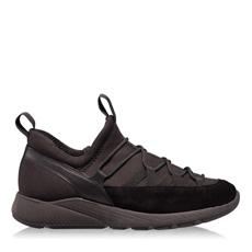 Pantofi Sport 4817 Crosta+Stretch Negru