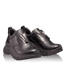 Pantofi Sport Dama 4954 Vitello Negru