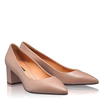 Pantofi Eleganti Dama 4743 Vitello Poudre