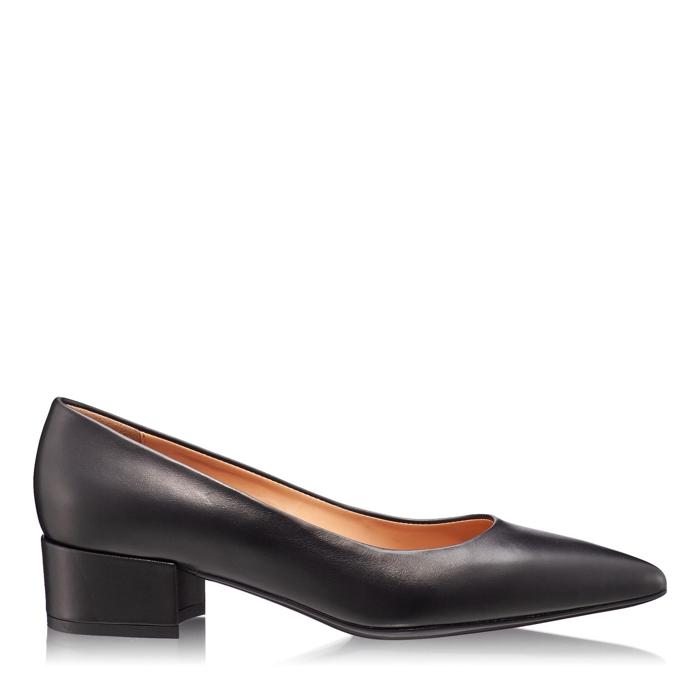 Imagine Pantofi Eleganti Dama 4767 Vitello Negru