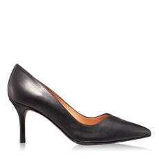 Imagine Pantofi Eleganti Dama 4871 Vit + Cam Negru