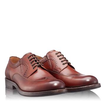 Pantofi Eleganti Barbati 6679 Vitello Maro